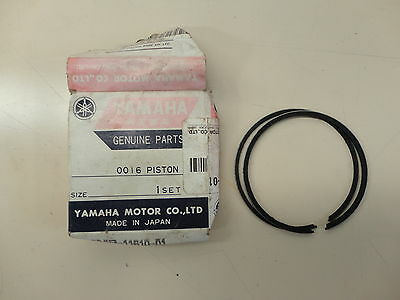 Yamaha DT125 R TZR125 Genuine OEM Piston Rings 3MB-11610-01 Standard Bore Size 1