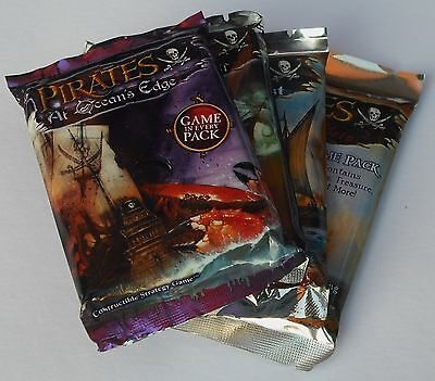 Wizkids Pirates Lot Of 5 Mixed Booster Game Packs New & Sealed