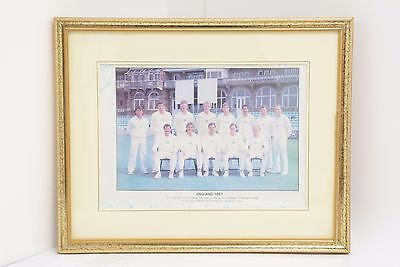 Signed Photo of the 1987 England Cricket team (SP 08)