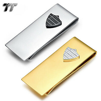 TT 316L Stainless Steel Shield Money Clip (MC49) NEW ARRIVAL