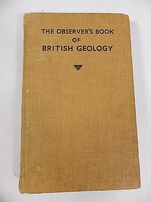 The Observer's Book of BRITISH GEOLOGY by I. O. Evans 1953