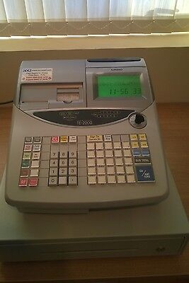 Casio Cash Register TE-2200 till Twin thermal rolls scanning enabled
