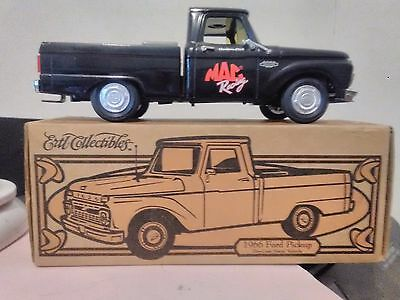 Ertil 1966 Ford Pickup Diecast Metal Truck In Box