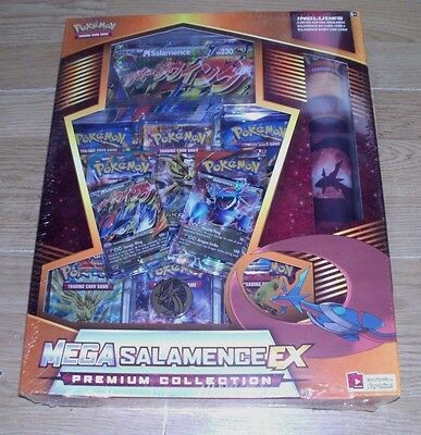 Pokemon Mega Salamence EX Premium Collection Never-Before Seen Card, Spirit Link