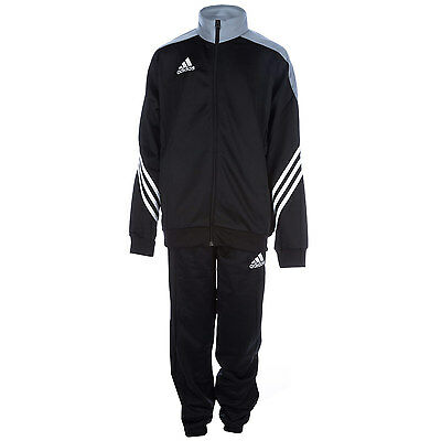 Boys adidas Infant Boys Sereno 14 Tracksuit in Black - 5-6 From Get The Label