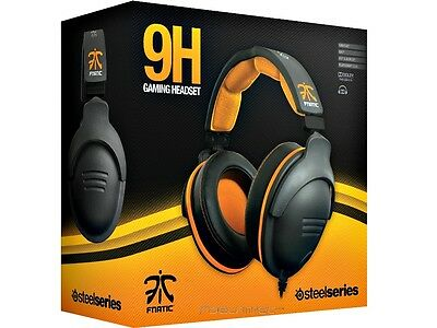 SteelSeries 9H Fnatic Edition - 7.1 Dolby Gaming Headset - PC/Mac, Sony PS4
