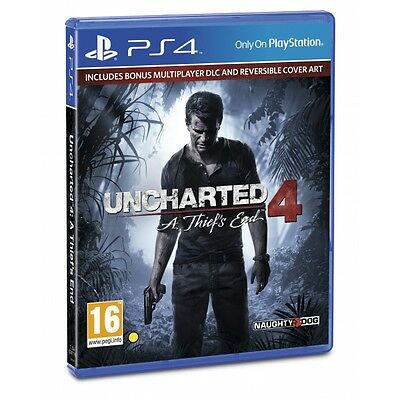 Uncharted 4 A Thief's End PS4 Game Brand New