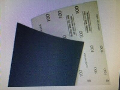 "Sand Paper Sheets fit American Rental 8""x20"" VA10 36 (50 sheets per package)"
