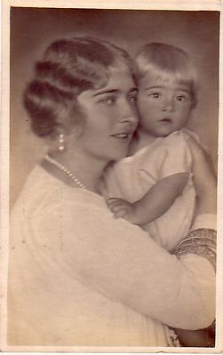 Yugoslavia -  Queen Mary and Prince Tomislav used postcard