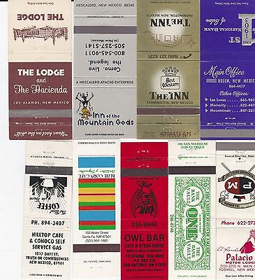 Lot Of 17 Different New Mexico Matchbook Covers.  #1