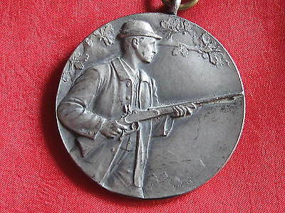 Old German  Patriotic Medal Djv Jaeger
