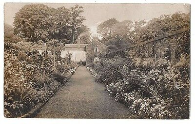 WIGAN Old House and Garden, RP Postcard, Wigan Postmark Postally Used 1905