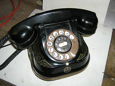 Old style Bell rotary dial telephone handset