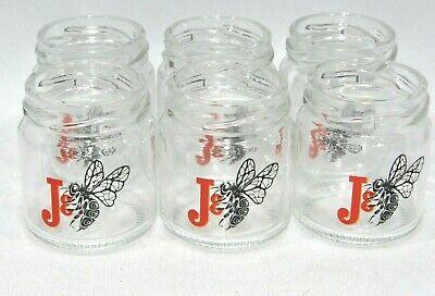 "J & B WHISKY 6 Verres shot shooter ""Urban honey"" NEUF"