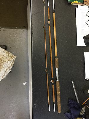 9ft Cane 3 Piece Spinner Fishing Rod