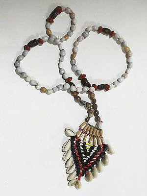 Fine tribal necklace trade beads Ray cosat  Papua (New Guinea)