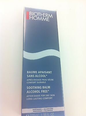 BIOTHERM HOMME Baume apaisant sans Alcool After Shave trockene Haut 100 ml OVP