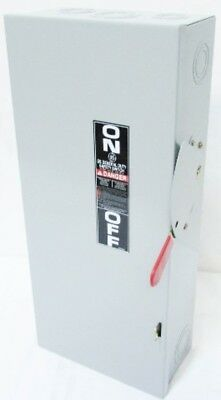 New GE TG3223 240V 100 Amp 2P General Duty Fusible Safety Switch 100A NIB