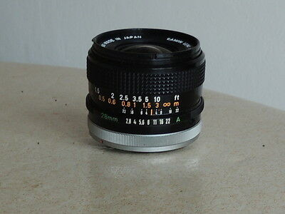 Objectif Canon Ft 1:2.8: 28Mm