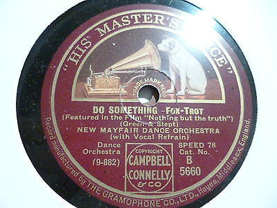 NEW MAYFAIR DANCE ORCH Lonesome Road 78 10'' HIS MASTERS VOICE B5660 50/6