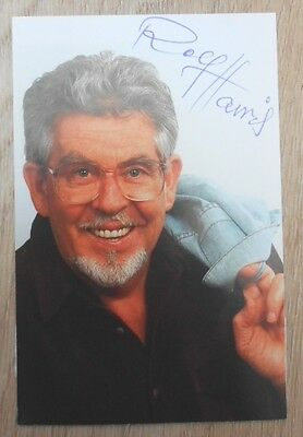 Rolf Harris hand signed photo