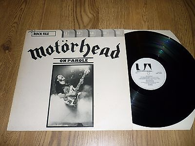 MOTORHEAD - On Parole - UK LP  - UTD ARTISTS LBR 1004
