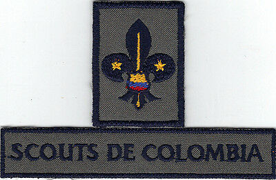Colombia Country Membership Scout  Badges