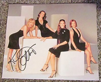 Signed Kim Cattrall autograph Sex And The City