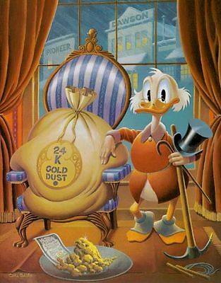 "Carl Barks Litho   ""Till Death Do US Part"" signiert & limitiert"