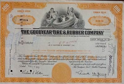 GOODYEAR TIRE - take a look of all my stock shares auction