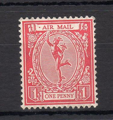 1923 Mercury Air Mail 'essay' Mounted Mint In Red