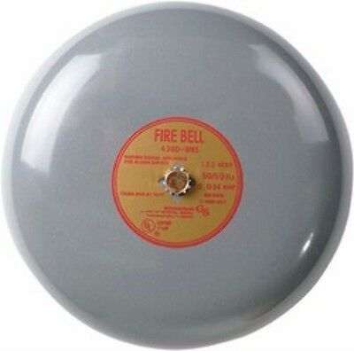 Edwards Signaling Fire Alarm Bell 439D-6AW1 20/24 VDC 0.085 amp 75db min @ 10ft