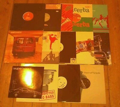 "14X12""s - Breakbeat/house Joblot - All Vg+!"