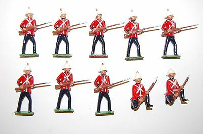 10 Britains Lead Royal Marines Light Infantry              3