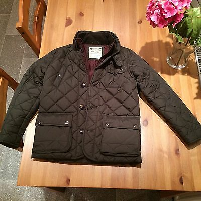 Next Boys Age 9 Years  Quilted Jacket