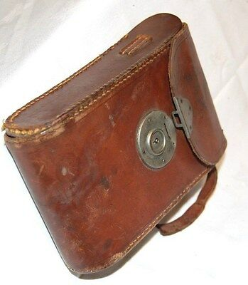 Vintage Bellows camera leather case, Spares/ repair