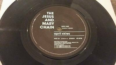 "The Jesus And Mary Chain "" April Skies ""  Vintage 45 Rpm"