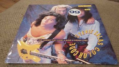 """Stevie Salas Colorcode Ex """" The Harder They Come """" 12 Inch Vinyl"""