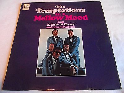 THE TEMPTATIONS ~ IN A MELLOW MOOD ** 1967 UK 1st TAMLA MOTOWN LP