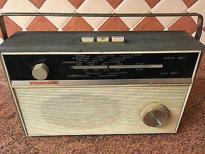 Vintage Transistor Radio,Cossor,1950s,Good Condition,Not Working