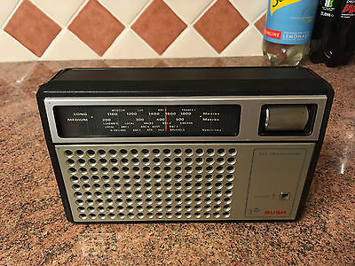 Bush Vintage 1970s Transistor Radio,Working Well,LW/MW,Attractive Set,Good Cond.