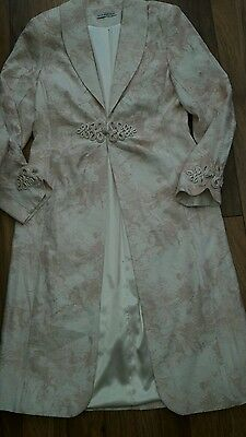 Gina Bacconi Mother Of The Bride Jacket Dress Size 12 Formal Occasion Wedding
