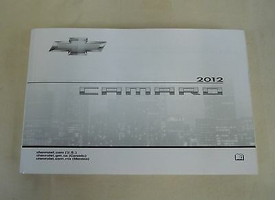 2012 Chevy Camaro Owner's Manual