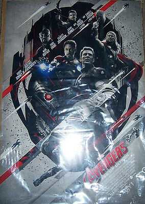 """avengers- Age Of Ultron"" Movie 14"" X 18"" Promo Poster Marvel"