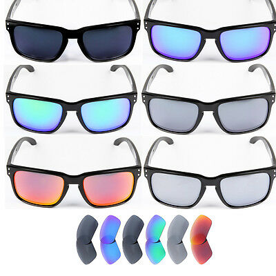 Inew Replacement Lenses for Oakley Holbrook-Option Colors