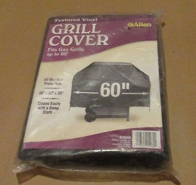 Allen Grill Cover Fits Gas Grills Up To 60 Inches 60 X 22 X 35 New/sealed