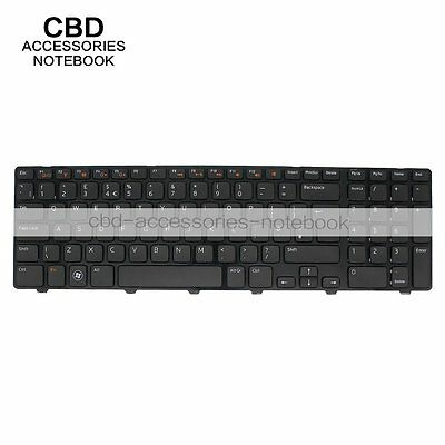 "NEW! UK Replacement keyboard laptop For Dell Inspiron 17R N7110 17"" Frame"