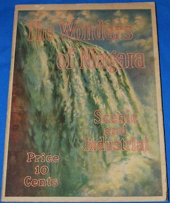 Advertising Booklet The Wonders of Niagara  Shredded Wheat Cereal, Niagara Falls
