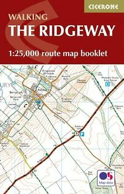 The Ridgeway Map Booklet 1:25,000 OS Route Mapping 9781852849351