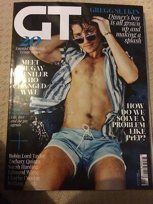 Gay Times Magazine August 2016